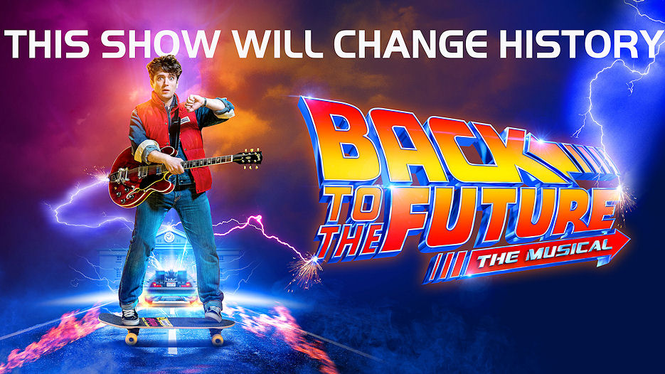 Back To The Future The Musical at the Manchester Opera House